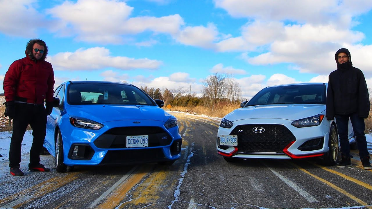 2019 Hyundai Veloster N Vs 2018 Ford Focus Rs I Drove The