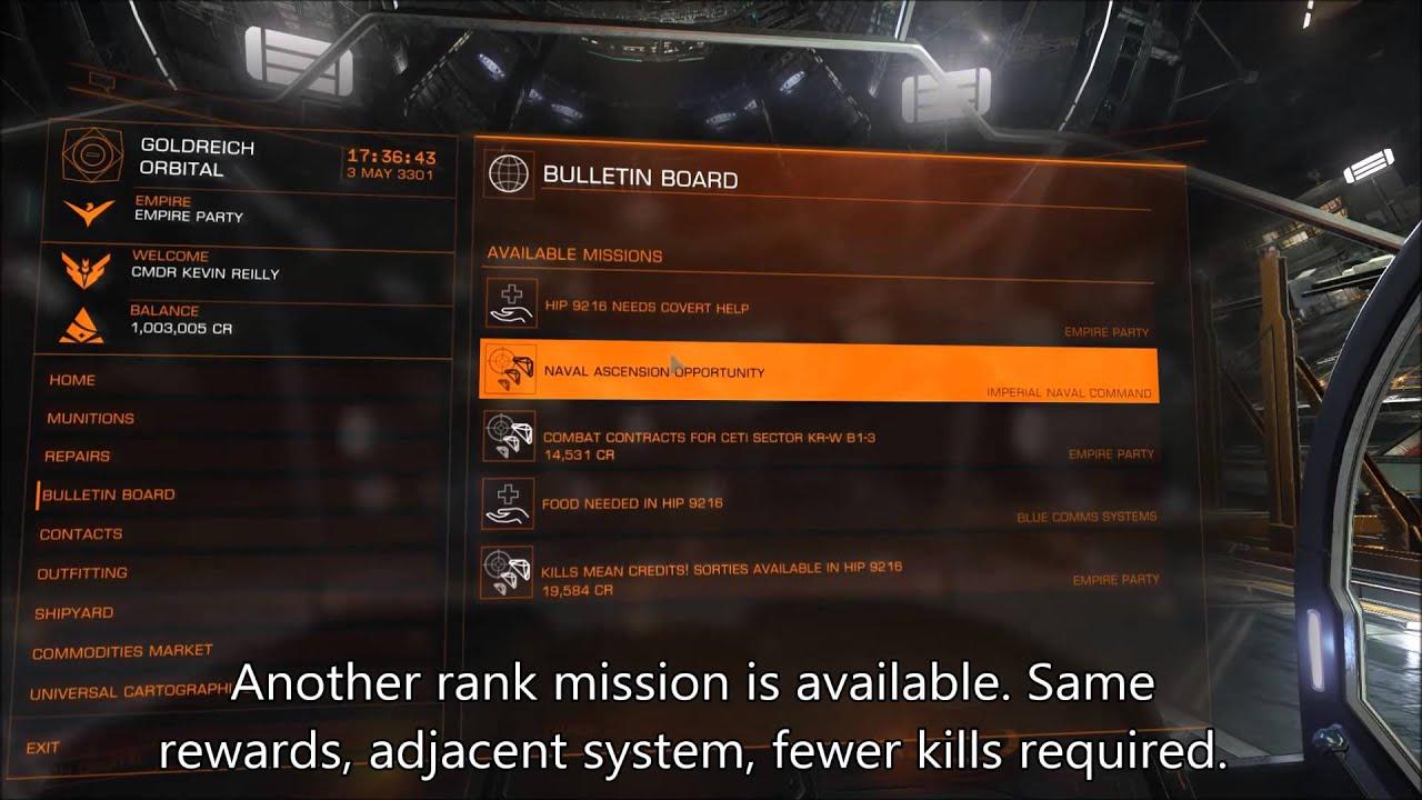 elite dangerous rang