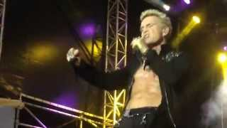 Billy Idol - Dresden 2014 - Whiskey and Pills