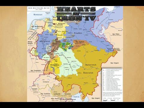 Hearts of Iron 4 Timelapse | Broken Germany Mod