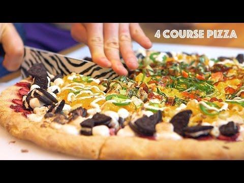 4 Course Pizza - Breakfast, Lunch, Dinner, Dessert In One!