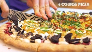 4 Course Pizza - Breakfast, Lunch, Dinner, Dessert In One!