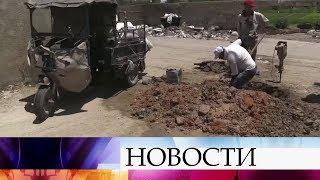 Российские военные за сутки доставили гуманитарную помощь в три провинции Сирии.