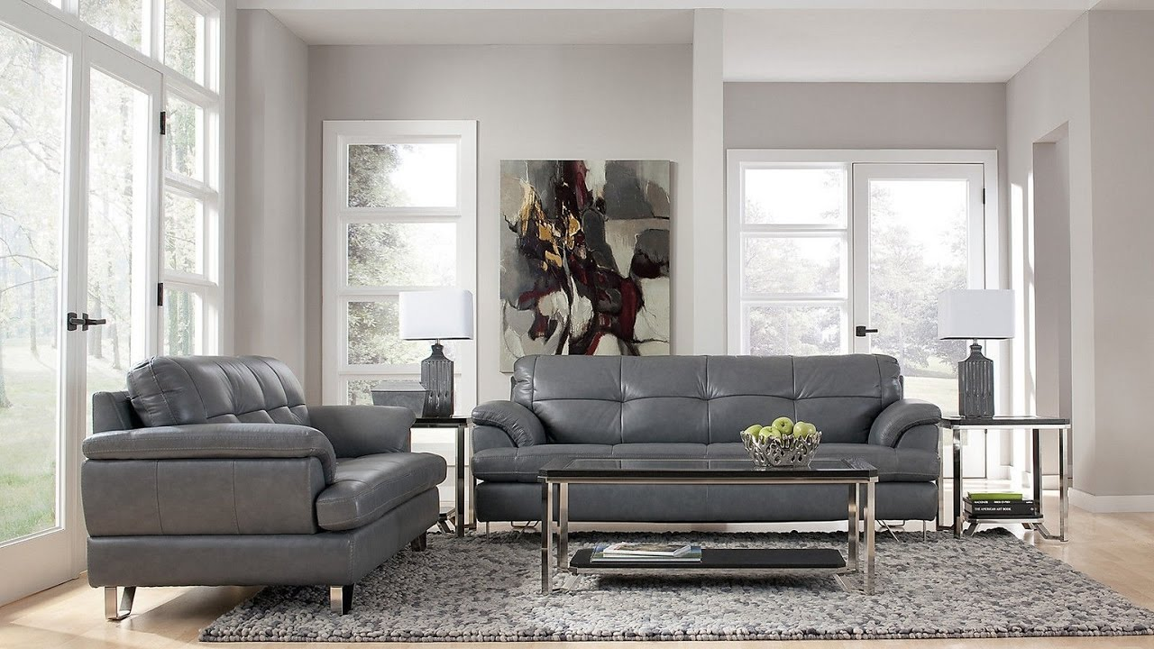 Grey Sofa Living Room Ideas - YouTube