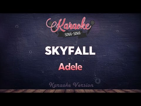 Adele - Skyfall (Karaoke Version)
