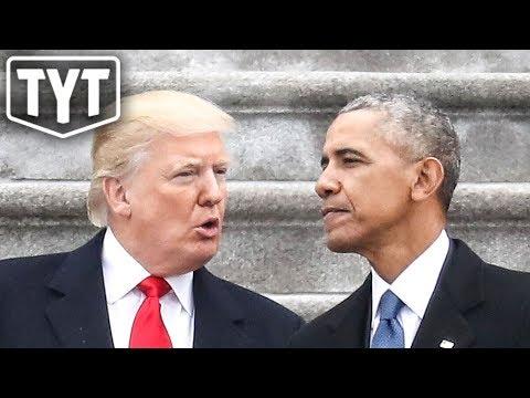 Trump Caught Plagiarizing Obama?