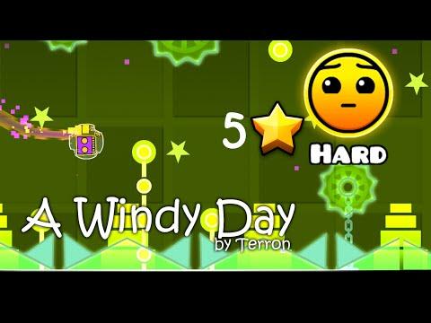 Geometry Dash - A Windy Day by Terron (HD)