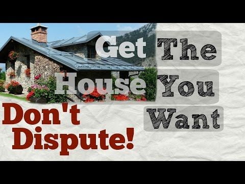 How a dispute on your CREDIT REPORT can make you lose your house!