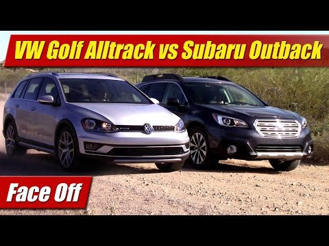 Face Off: 2017 VW Golf Alltrack vs Subaru Outback 2.5 Limited