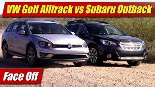 Face Off: 2017 VW Golf Alltrack vs Subaru Outback 2.5 Limited