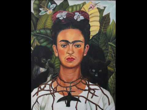 Frida Kahlo - Self Portrait with Necklace of Thorns - YouTube