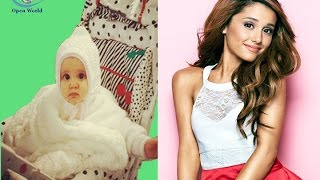Ariana Grande - from 1 to 24 years old