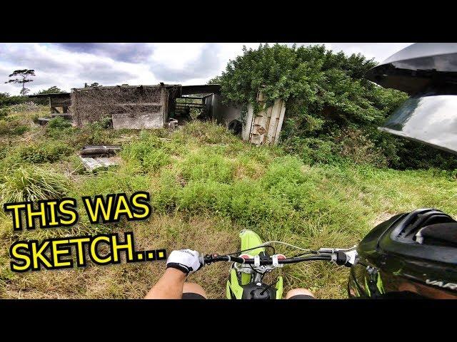Exploring Random Trails On Pit Bike!