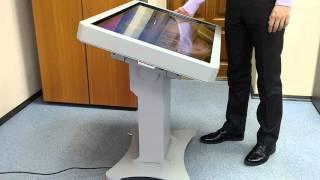 Интерактивный стол с поворотным механизмом(Стол может использоваться в горизонтальном положении так и в вертикальном, достаточно только нажать на..., 2016-04-07T13:05:32.000Z)