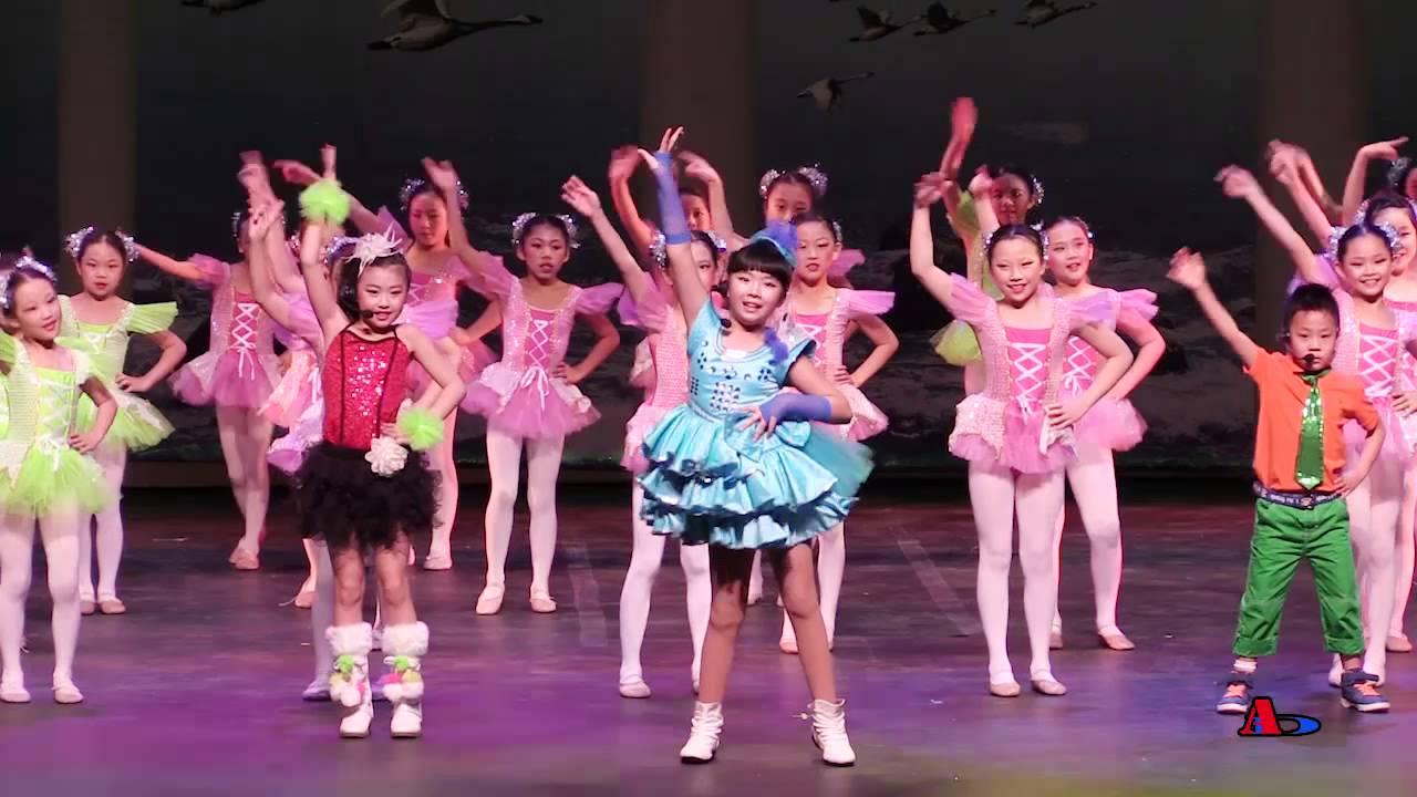 大華府地區2015少兒春晚序幕  舞蹈《小蘋果》