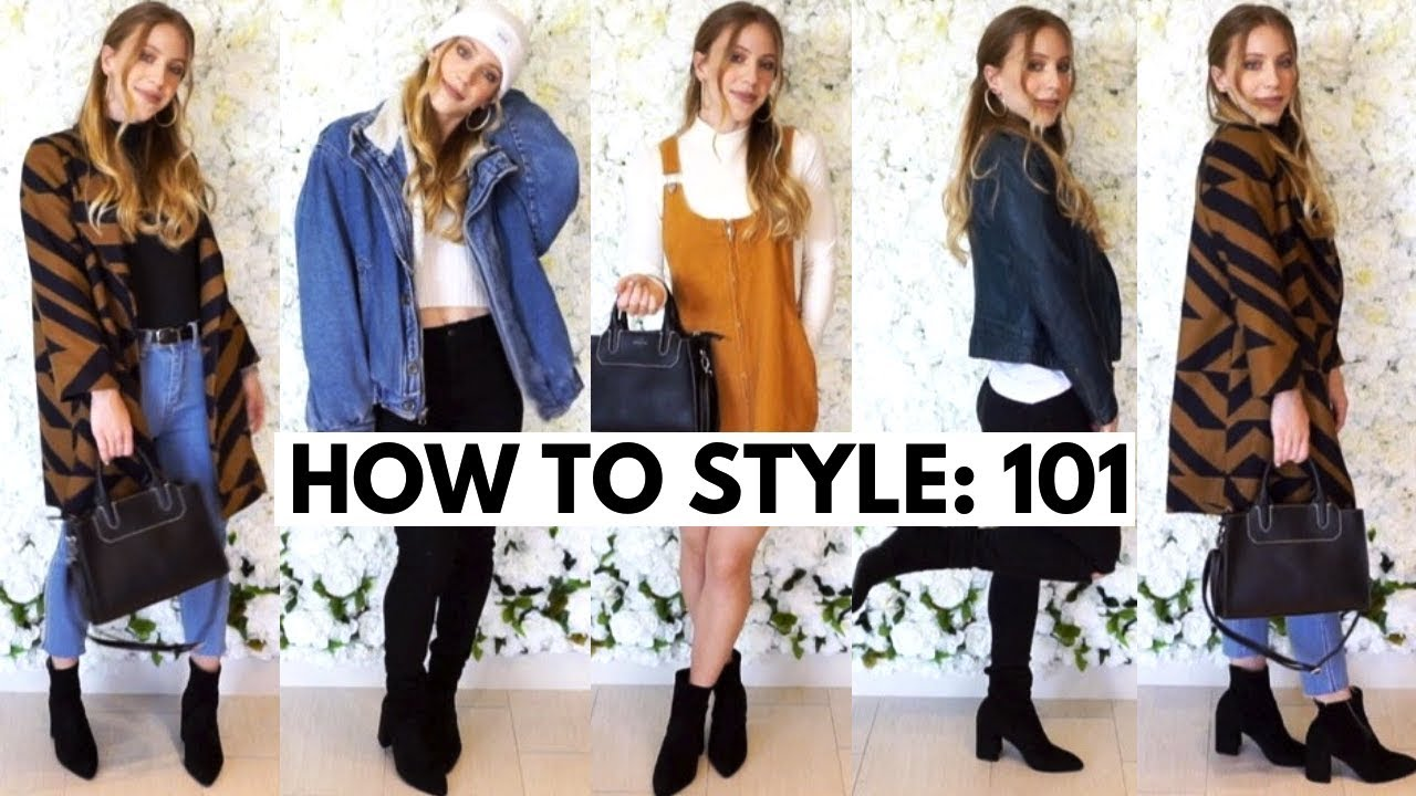 how to put together an outfit 101: WINTER EDITION 3