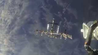 """Soyuz TM   un-docking from the ISS """"HOAX EXPOSED"""" Nov5"""