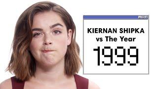 Kiernan Shipka Doesn't Know What a Furby Looks Like 😱 | Vs. The Year | Harper's BAZAAR