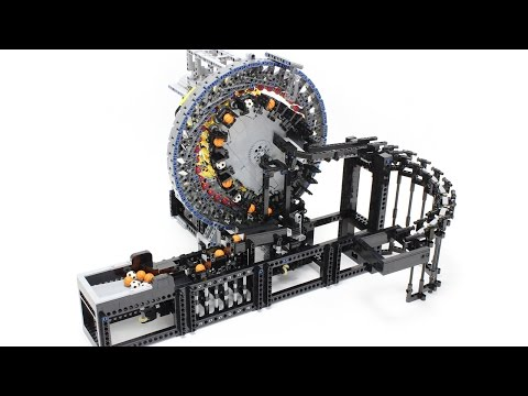 This Lego Machine Gearing Demo Is Mind-Blowing