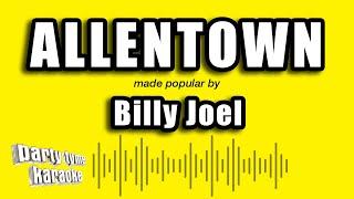 Billy Joel - Allentown (Karaoke Version)