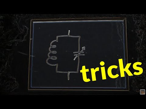 Two tricks with tuned circuits