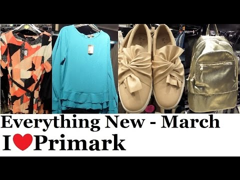 Everything New at Primark - March 2017 | I❤Primark