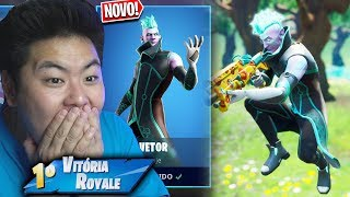 A * NEU * SKIN VECTOR IST AMAZING!! * 1200 V-Bucks! * | FORTNITE