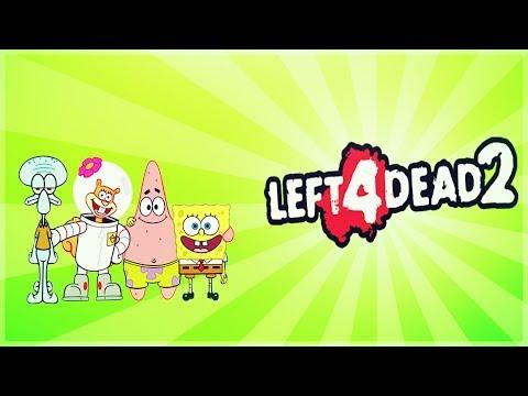 Left 4 Dead 2 - SPONGEBOB EDITION - Comedy Gaming