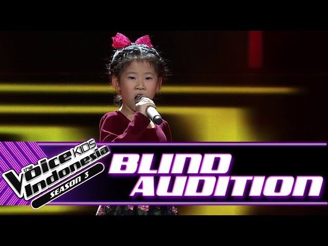 Kathlynn - It's Oh So Quiet | Blind Auditions | The Voice Kids Indonesia Season 3 GTV 2018