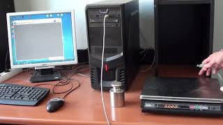 подключение весов МАССА-К к компьютеру по USB