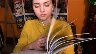 ASMR Page Turning, Folding, Writing Sounds