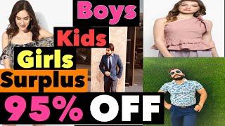 MultiBrand Surplus Cloths For Girls || Surplus cloths for kids|| Surplus cloths for Mens | #Surplus