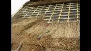 видео Крыша из камыша