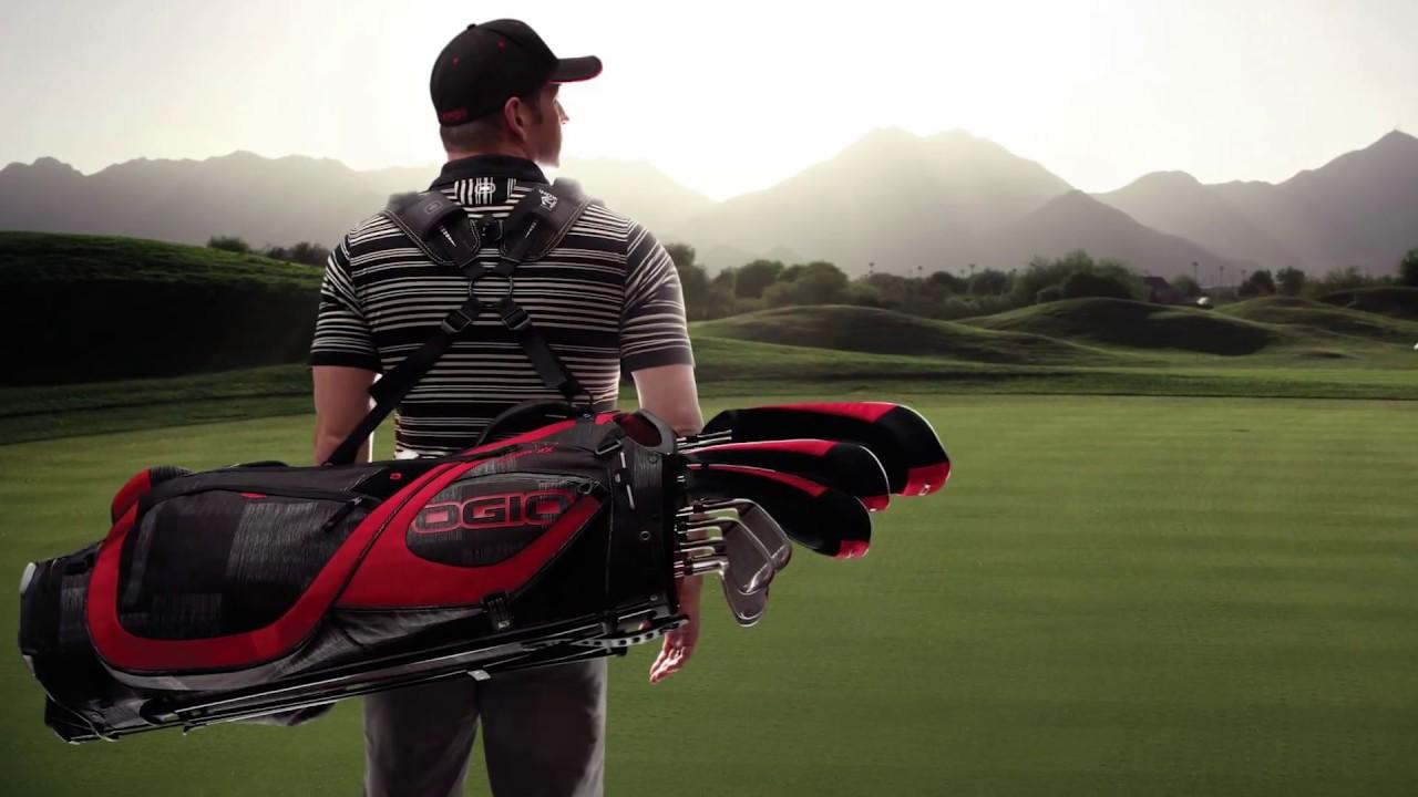 Ogio 2017 Silencer Golf Bags At The Pga Show