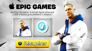 at last! THE NEW PACK of SKIN APPLE on FORTNITE!! 🤩