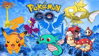 Pokemon Go Shiny hauting