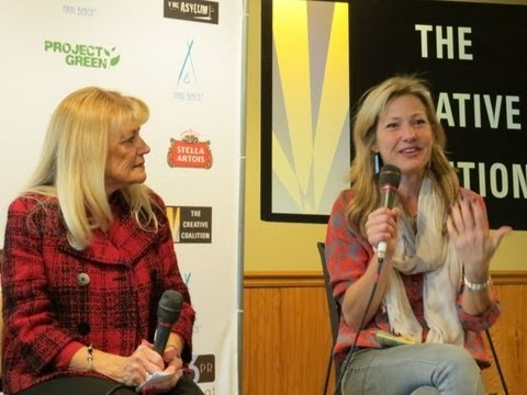 Joey Lauren Adams honors Teacher at Sundance 2013