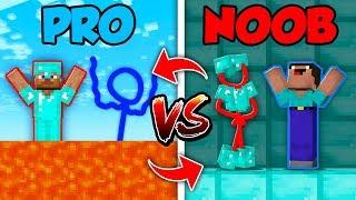 Minecraft NOOB vs. PRO : SWAPPED STICKMAN in Minecraft (Compilation)