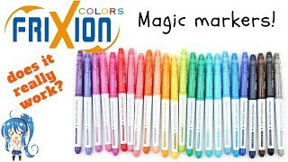 Pilot Frixion MAGIC MARKER!!! Does it really work???