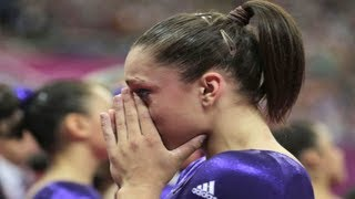 Jordyn Wieber Fails in All-Around