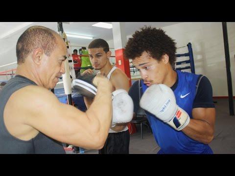 Prospect Blair Cobbs (4-0, 3 KO's) now training at the Salas Boxing Academy