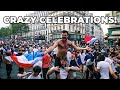 2018 WORLD CUP FINAL FRANCE vs. CROATIA IN PARIS! CRAZY CELEBRATIONS!