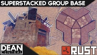 Superstacked Group Base Design | Advanced Rust Building #16