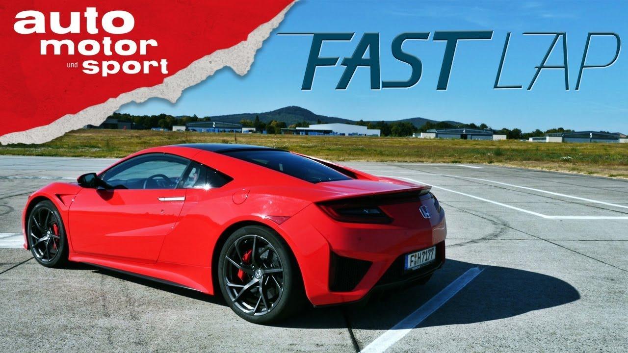 Honda NSX: Rückkehr einer Legende - Fast Lap | auto motor und sport ...