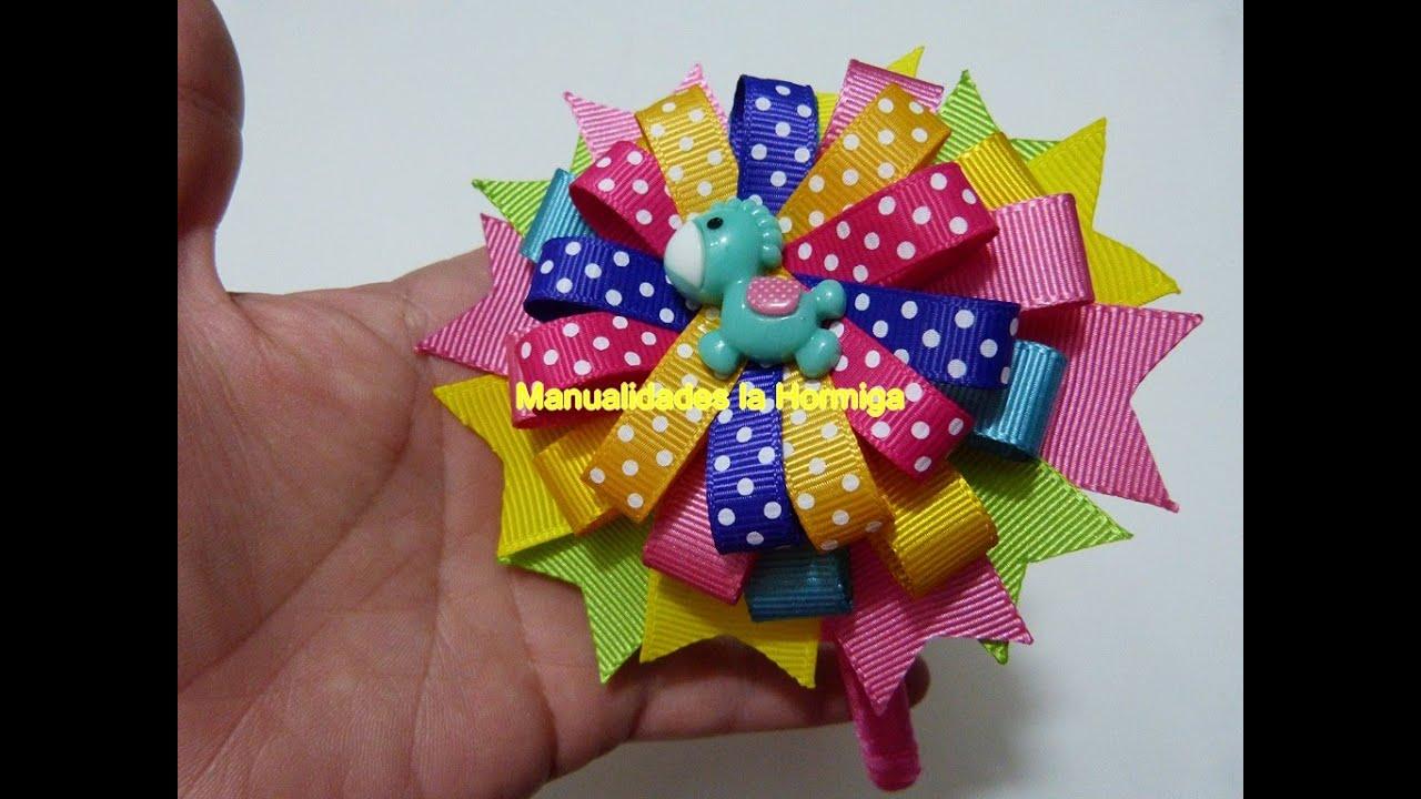 Como hacer mo os de liston hair bows como hacer mo os - Como hacer monos ...