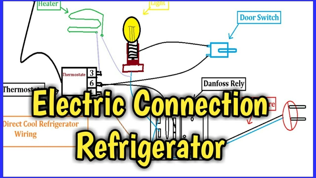 Electric connection refrigerator in urduhindi youtube electric connection refrigerator in urduhindi asfbconference2016