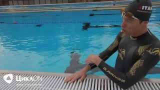 Ориентирование триатлета на открытой воде