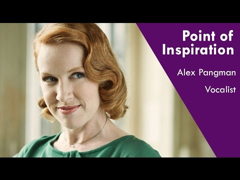 Sweetheart of swing Alex Pangman's Point of Inspiration