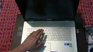 💻 PC Portable Asus N751JX - Déballage [FR]