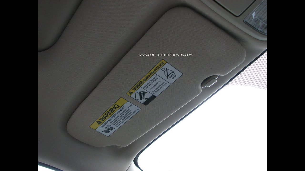 Episode  263 - 2012-2014 Honda CR-V Sliding Visor Upgrade Installation 5108403c86a